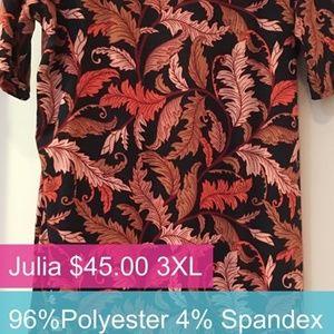 LuLaRoe Julia 3XL $9.00